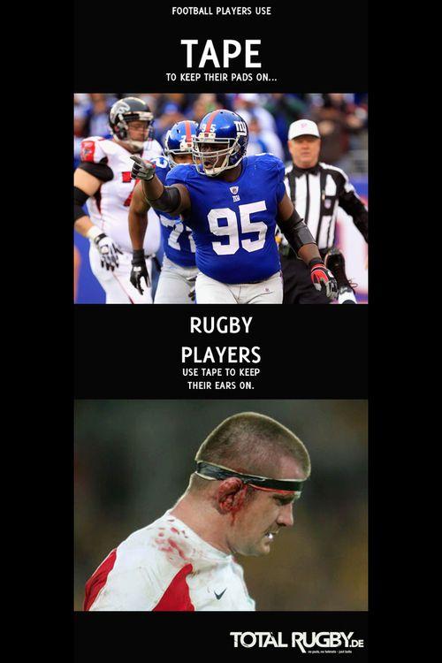 Rugby Vs American Football Meme