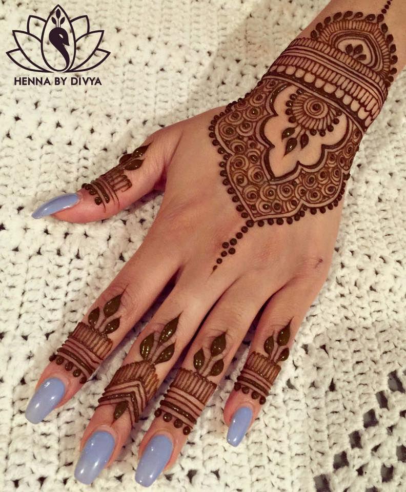Beautiful and Easy Mehndi Designs for Eid Celebration #hennadesigns