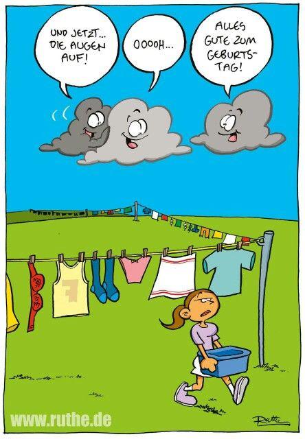 Regenwolken Geburtstag Ruthe Funny Jokes Und Humor