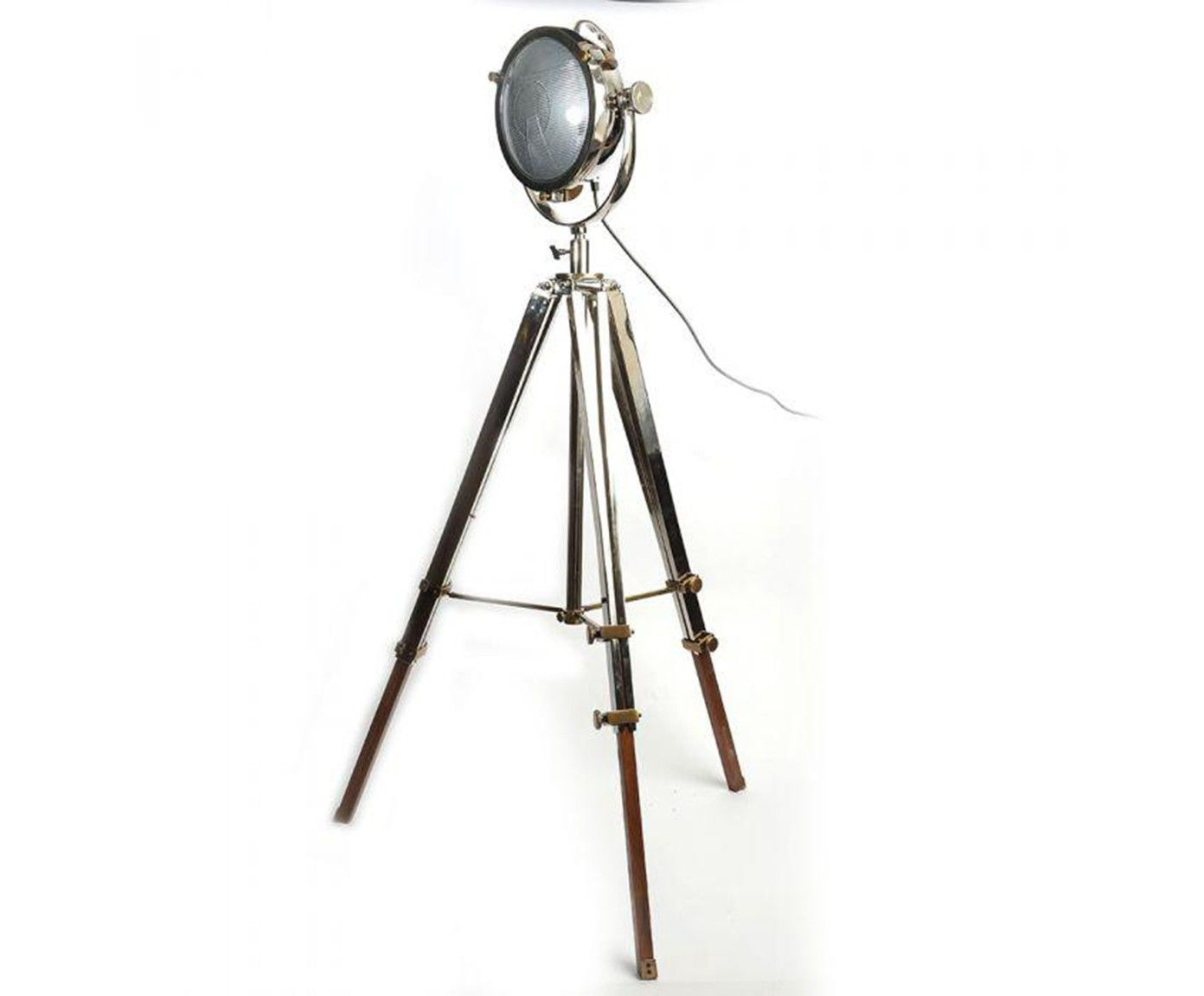 Lampada da terra Rolls argento Westwing Lampade da