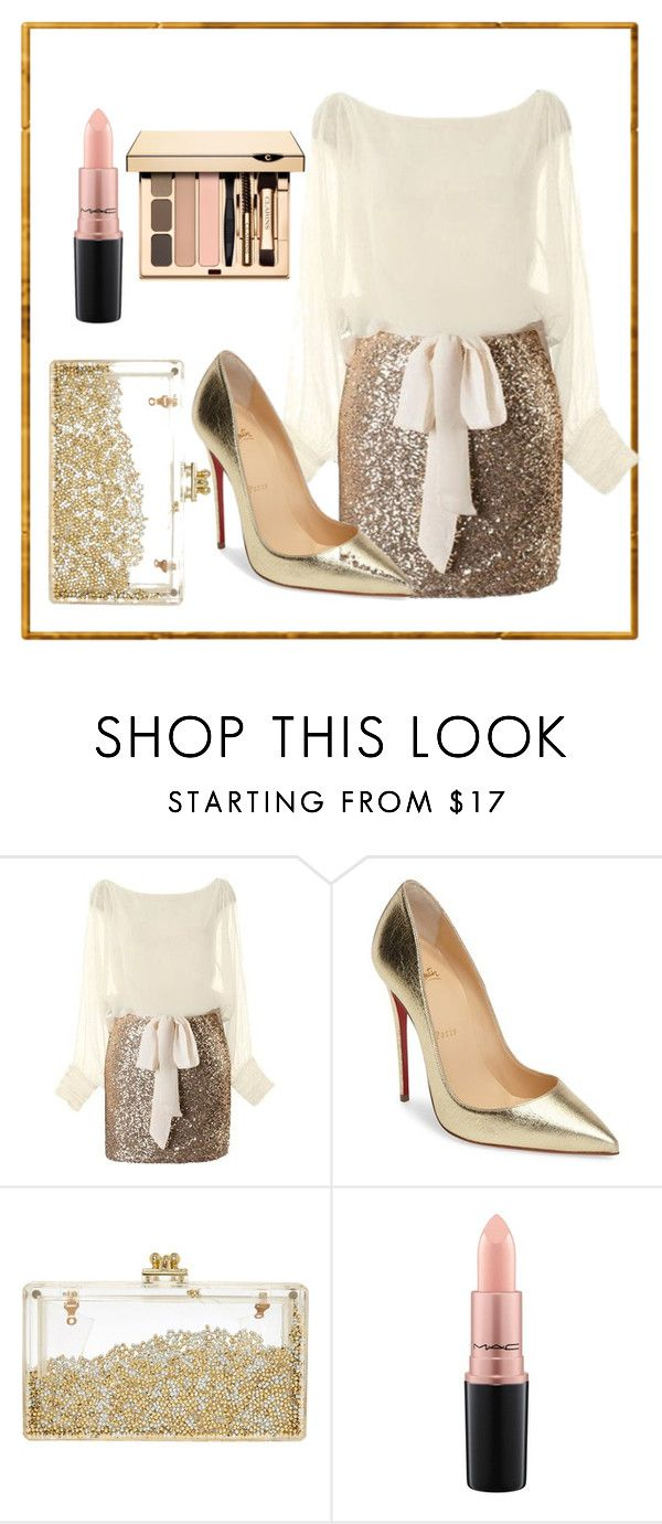 """Untitled #34"" by katarinatir ❤ liked on Polyvore featuring Christian Louboutin and MAC Cosmetics"