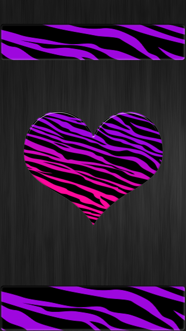 .purple pink tiger print iphone wallpaper cell phone background