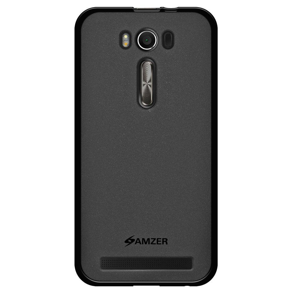Amzer Pudding Tpu Case Black For Asus Zenfone 2 Laser Ze500kl
