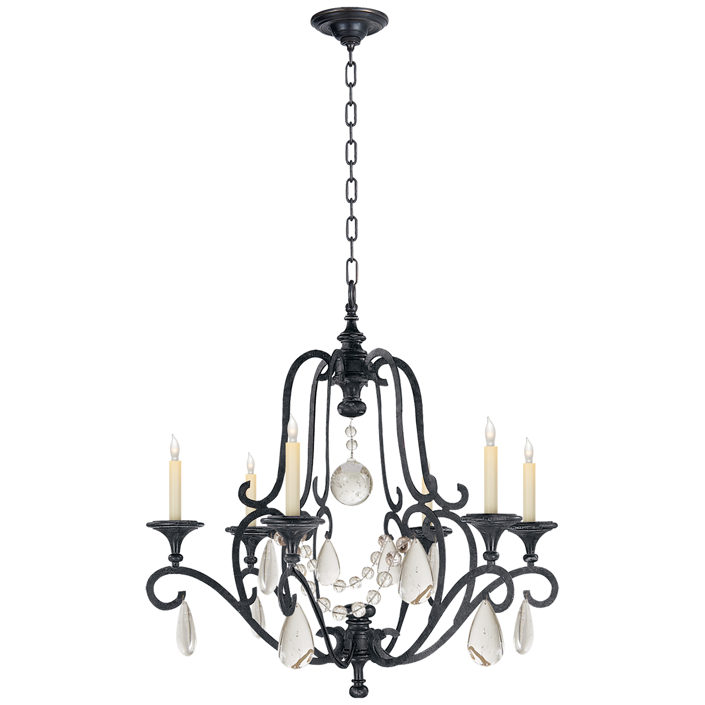 loading chandelier zoom oil bronze fs rubbed seeded glass light
