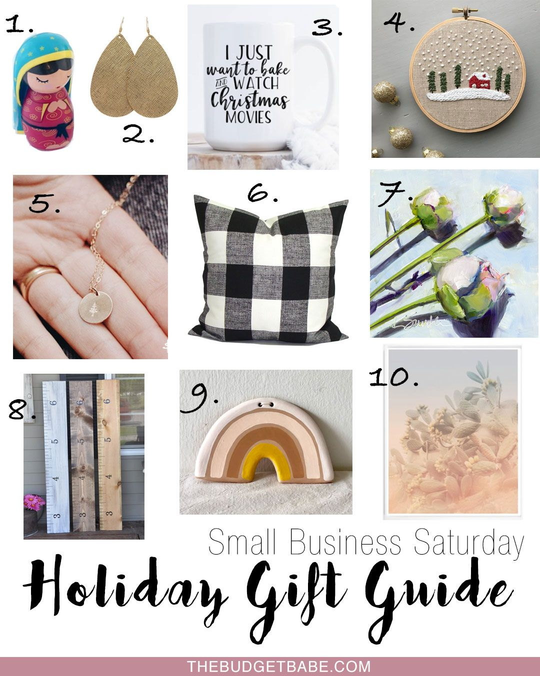 Holiday Gift Guide 2018 Small Business Saay Something