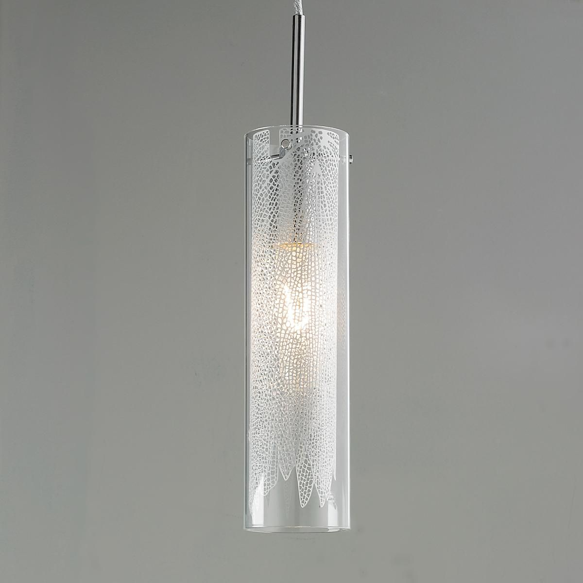Kitchen Pendant Lighting Glass Shades Draped Netting Under Glass Pendant Mini Pendants