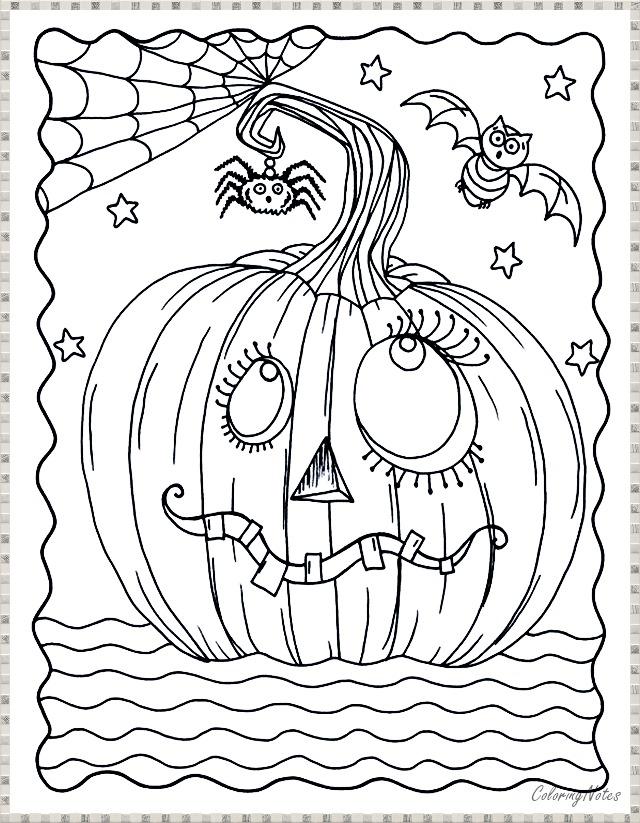 Pumpkin Coloring Page Halloween Pumpkin Coloring Pages Halloween Coloring Book Halloween Coloring Sheets