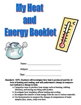 Heat Unit Experiment Booklet 10 Hands On Experiments Matter Science Science Lessons