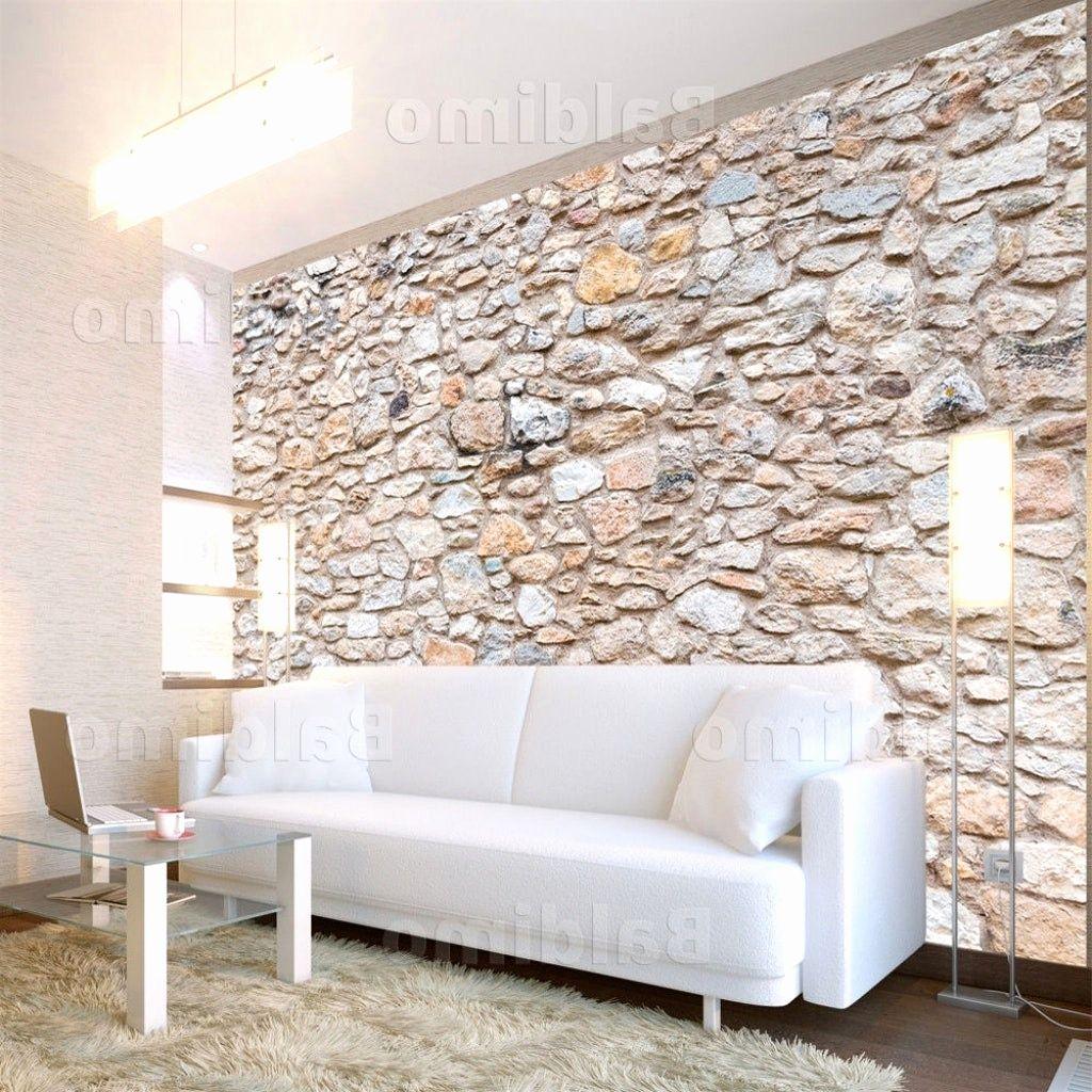 Wohnzimmer Ideen Mit Steintapete  Steintapete, Wohnzimmer ideen