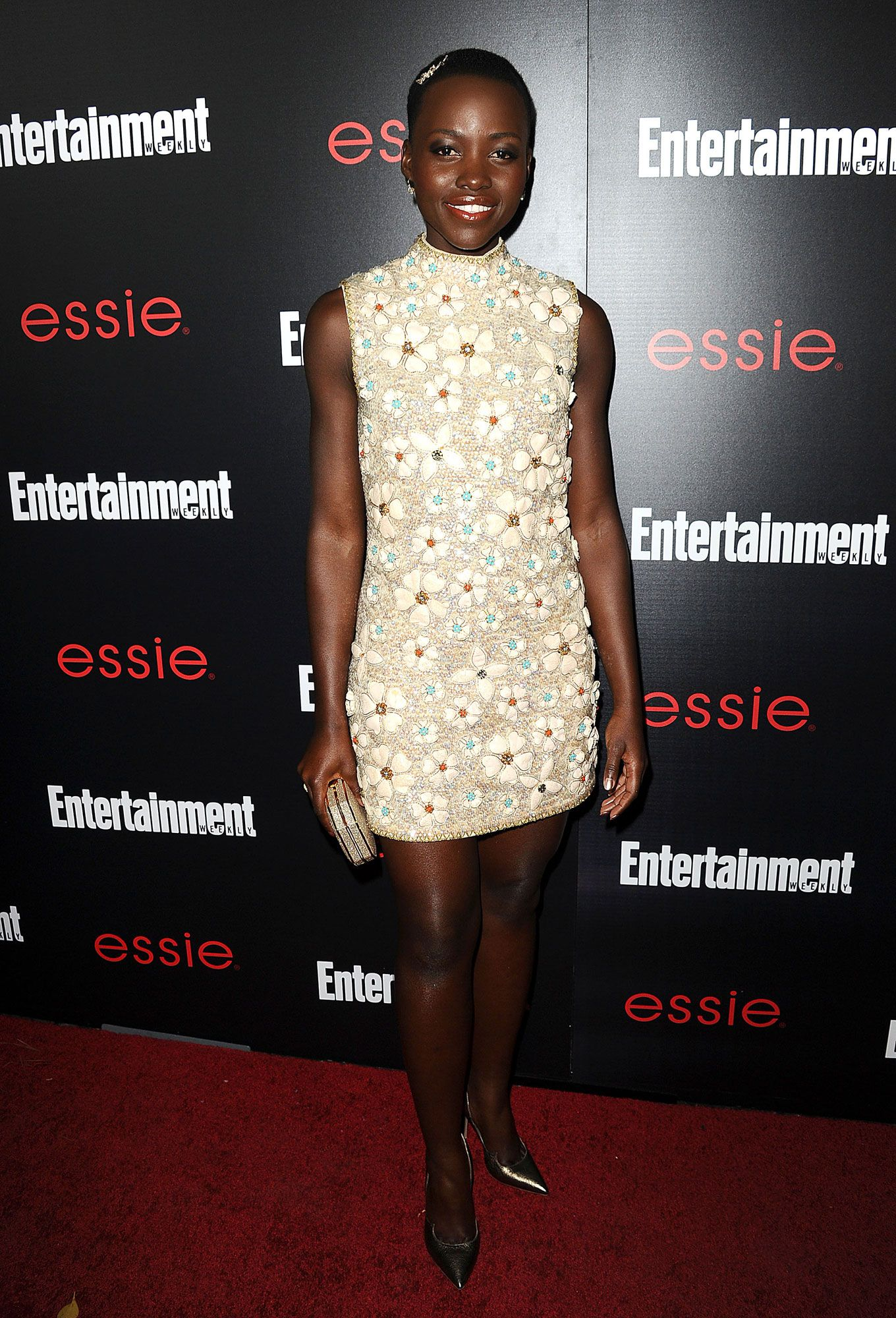 How to style short hair red carpet shorts and lupita nyongo