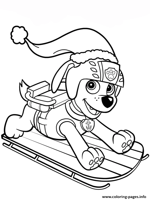 Pin By Free Coloring Pages On Coloring Pages Paw Patrol Coloring Paw Patrol Coloring Pages Christmas Coloring Pages
