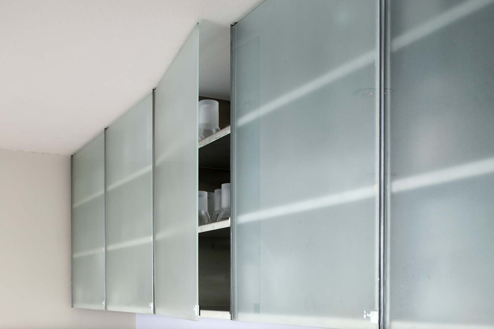 Cool Frameless Glass Cabinet Doors With Bedroom Ideas ...