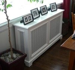 Fichman Furniture & Radiator Covers - traditional punched panel ...