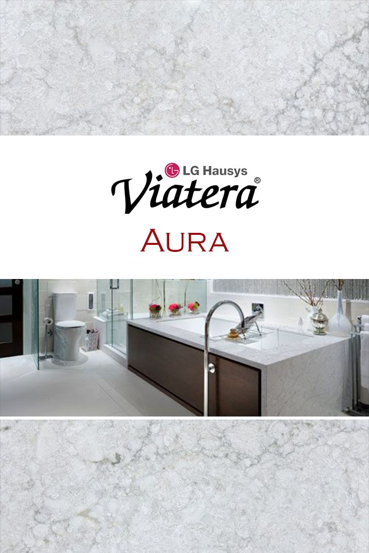 Aura By Lg Viatera Is Perfect For A Kitchen Quartz
