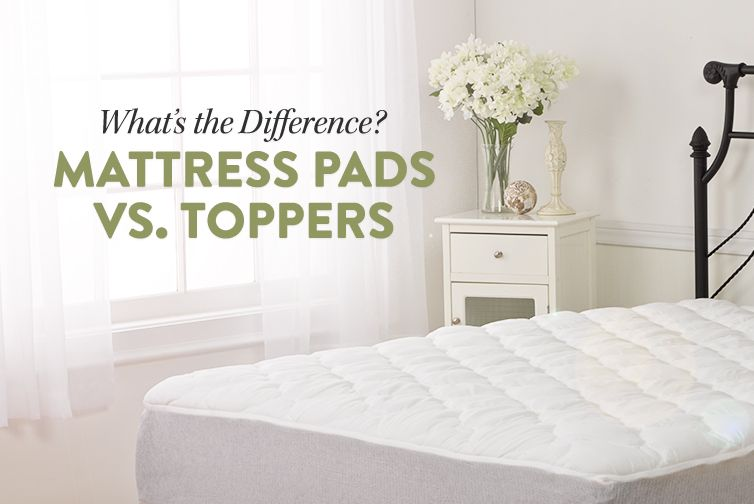 mattress pad vs mattress topper What's the Difference? Mattress Pad vs. Mattress Topper | Mattress  mattress pad vs mattress topper