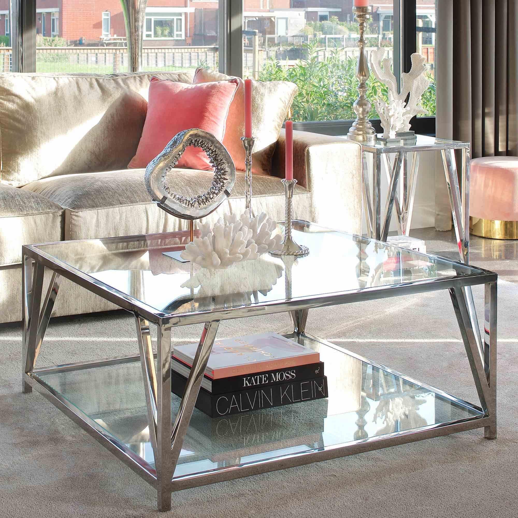 Modern Glass Coffee Table Di 2020 [ 2000 x 2000 Pixel ]