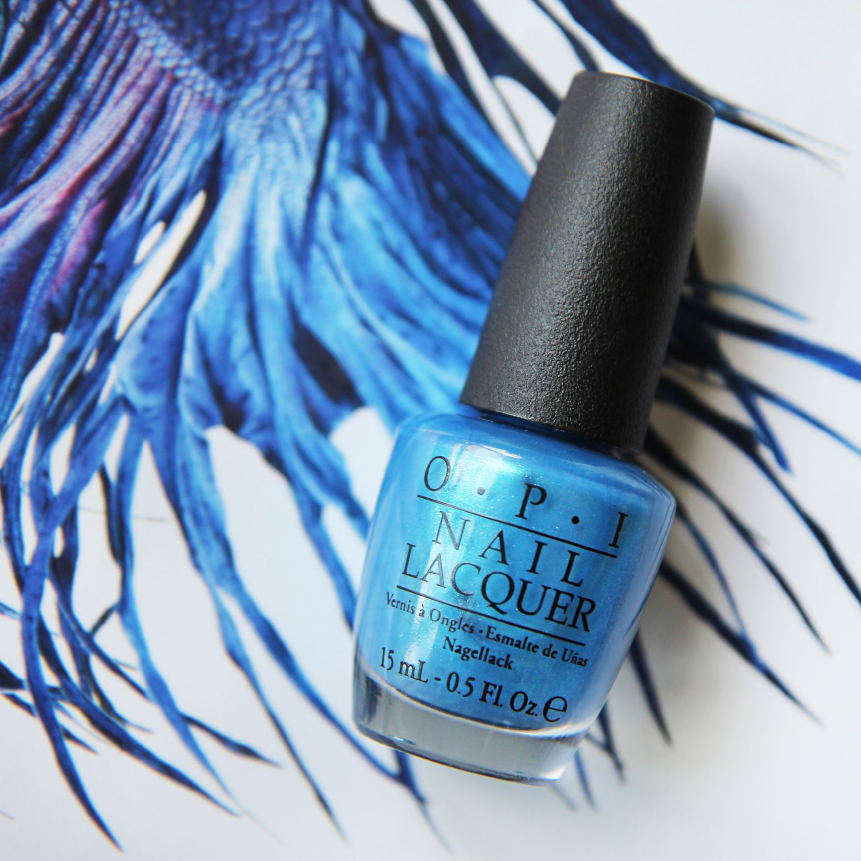 "OPI #NailLacquer in der Farbe ""Teal the cows come home"" ist unser ..."