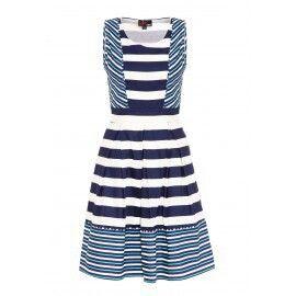a7dd5de159f7 Blue striped dress