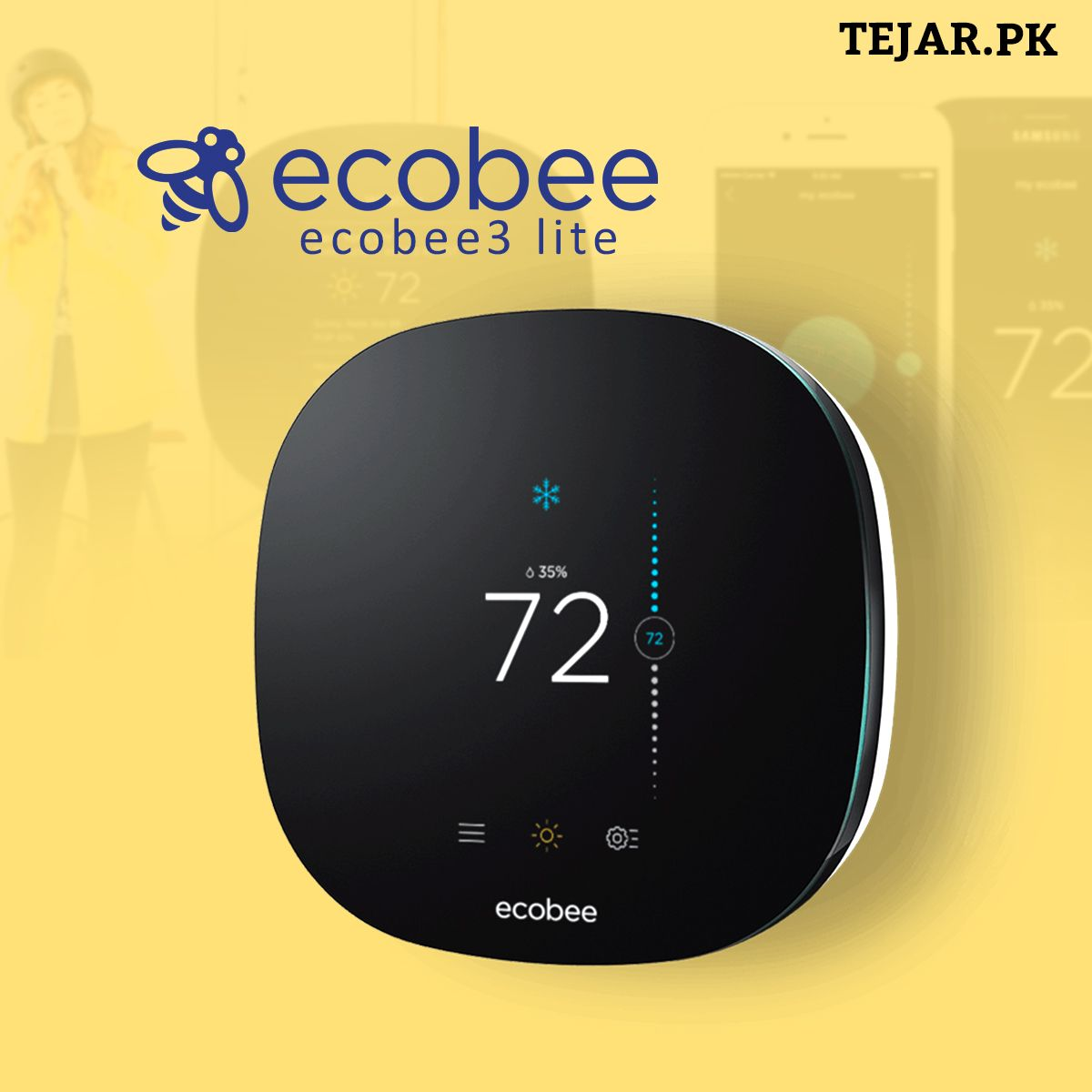 Ecobee3 Lite Heating Cooling By Using Smart Home