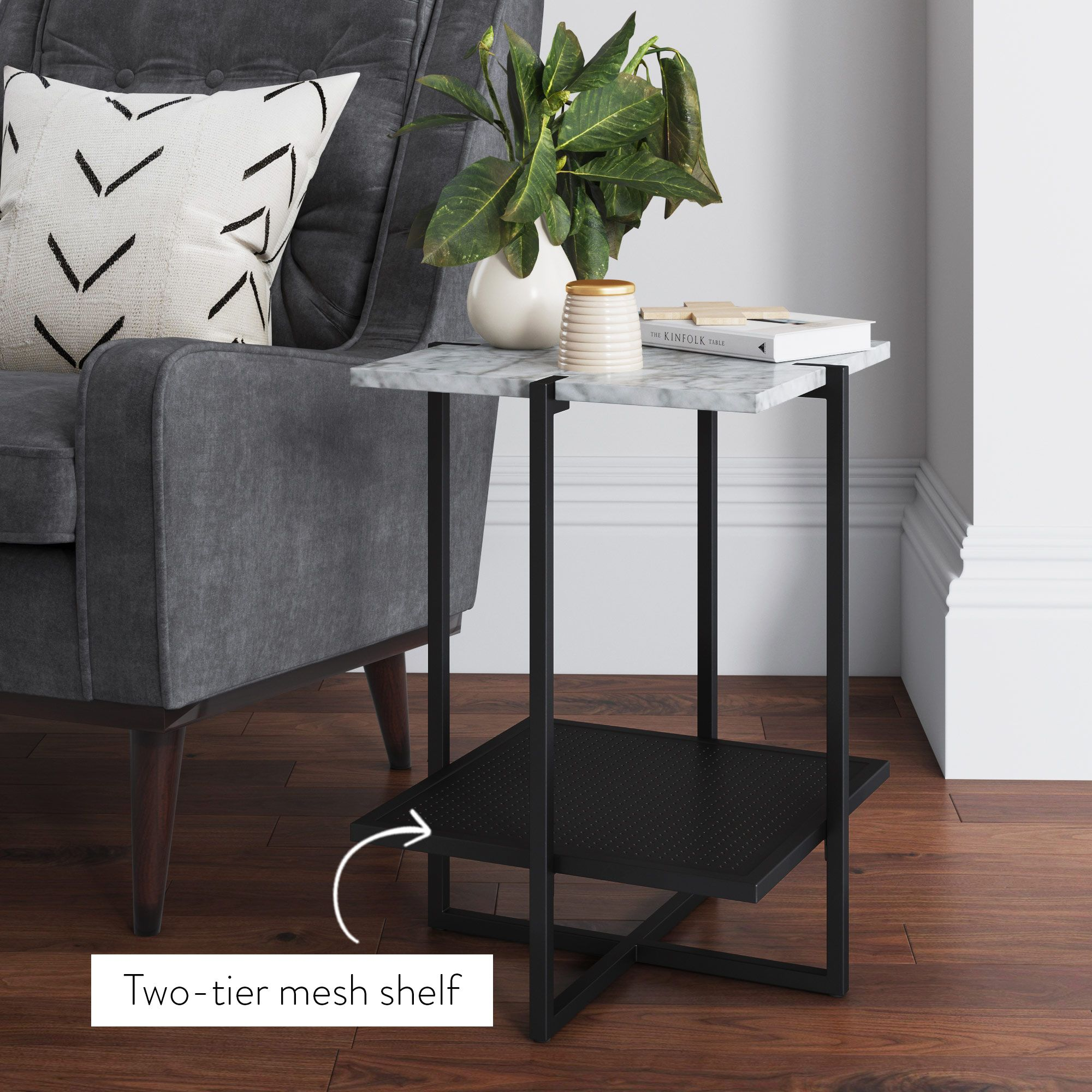 Myles Is An Accent Table For Modern Contemporary Homes Create A