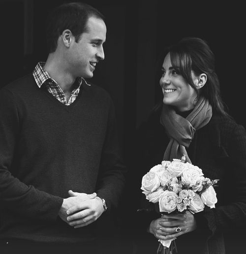 Will and Kate | aww gosh, the way they look at each other is adorable.