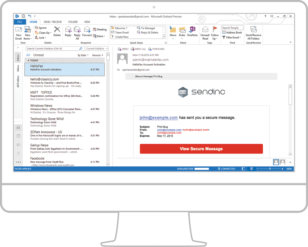 Email Encryption Free Secure Email Service Sendinc