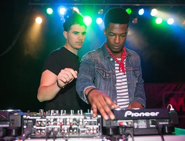 FAMILY = learning from each other and working hard together. Shoutout to DJ @Christian and @WillieJones!