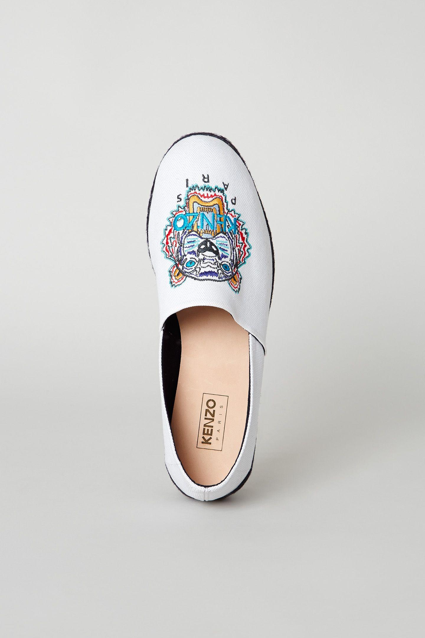 Kenzo Tiger Espadrilles - Kenzo Shoes