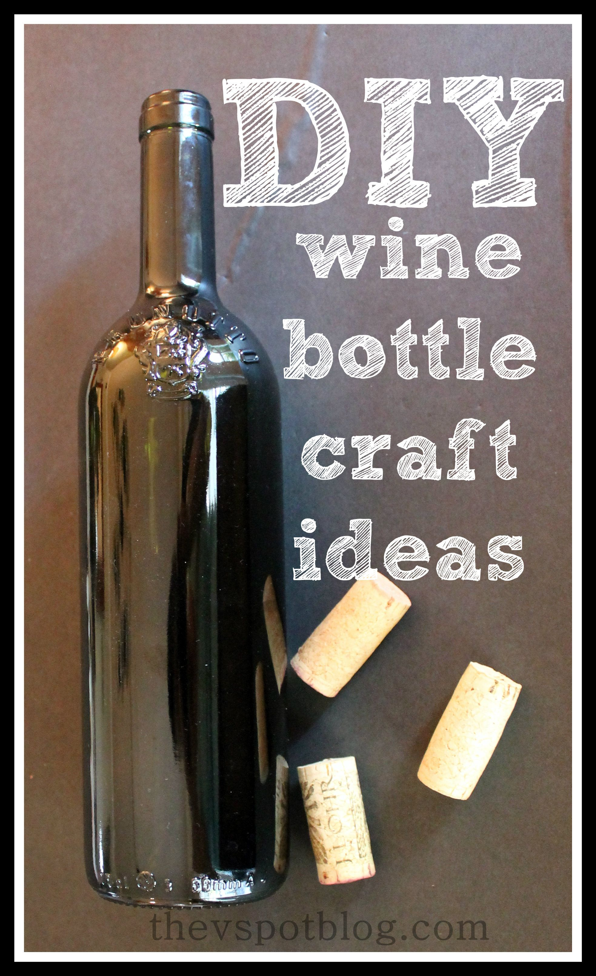 Easy And Fun DIY Bottle Craft Projects. Upcycle And Recycle Wine Bottles.