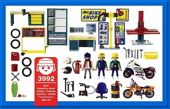PLAYMOBIL  set #3992 - Bike-shop