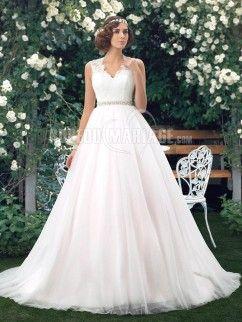 Robe de mariee en tulle pas cher