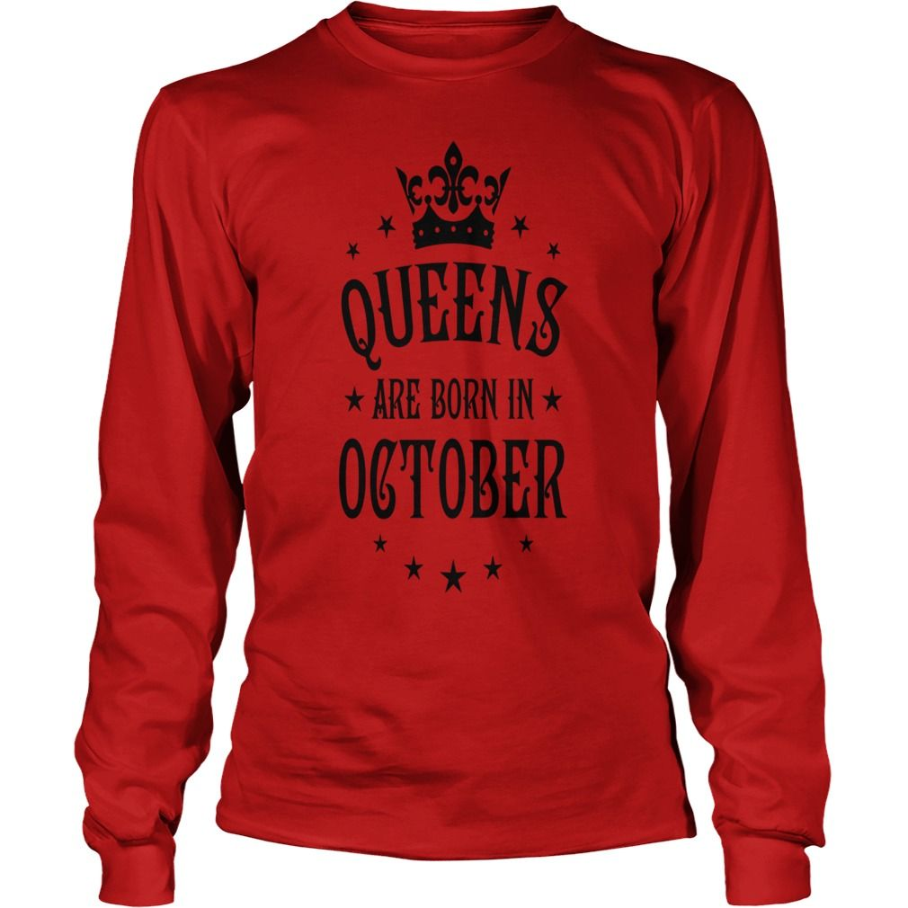 Queens are born in october crown stars sexy woman gift ideas