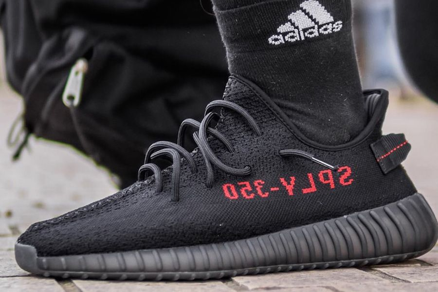 How To Spot Fake Adidas Yeezy Boost 350 V2 Black Red In 35 Steps