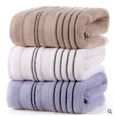 Bath Towels In Bulk 70*140Cm 100% Cotton Bath Towel Bulk Beach Towel Spa Salon Wraps