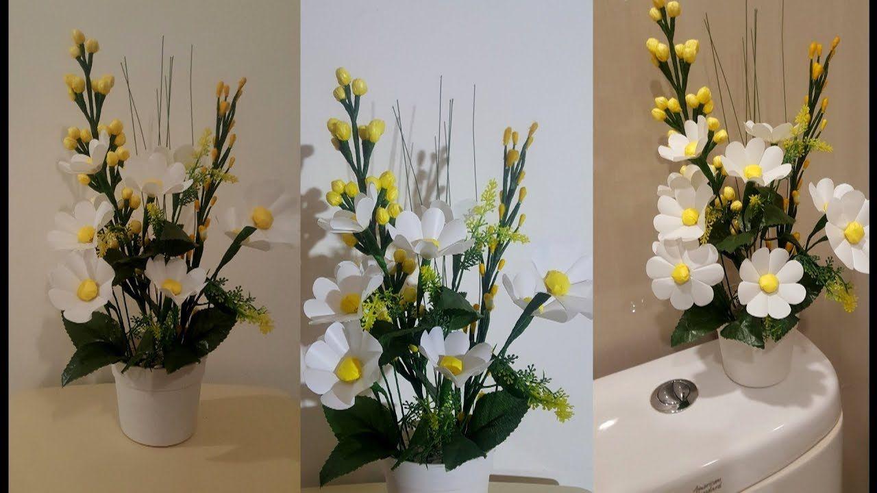 Kerajinan Tangan Bunga Dari Kantong Plastik Kreasinya Idetrik