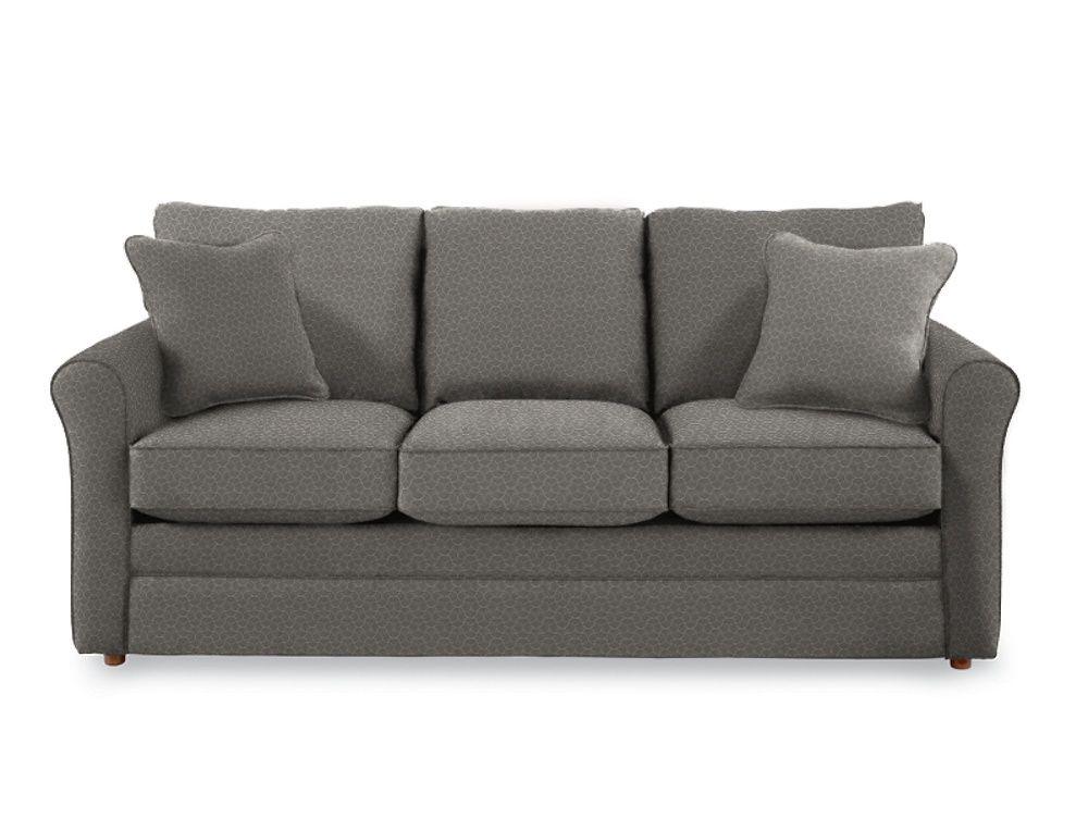 Leah queen sleep sofa in Fog Home fice Pinterest