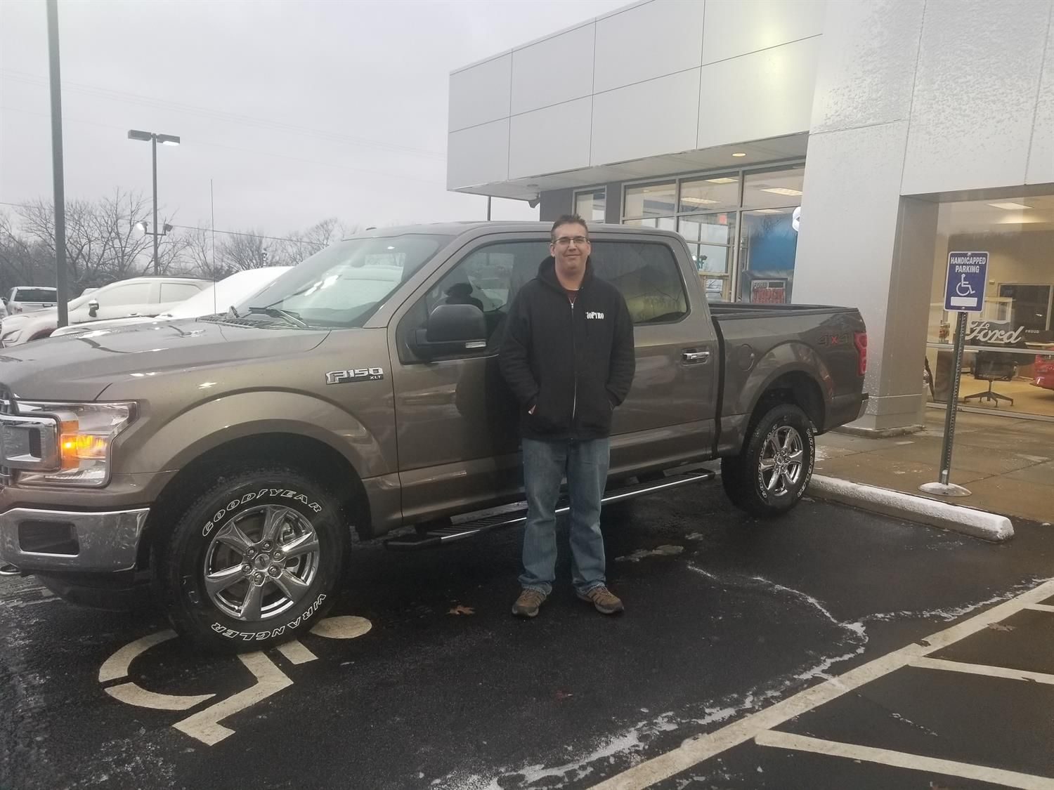 Zane Wishing You Many Miles Of Smiles In Your 2018 Ford F 150 All The Best Auto Plaza Ford De Soto And Tracy Gersbacher Ford F150 Road Trip Trip