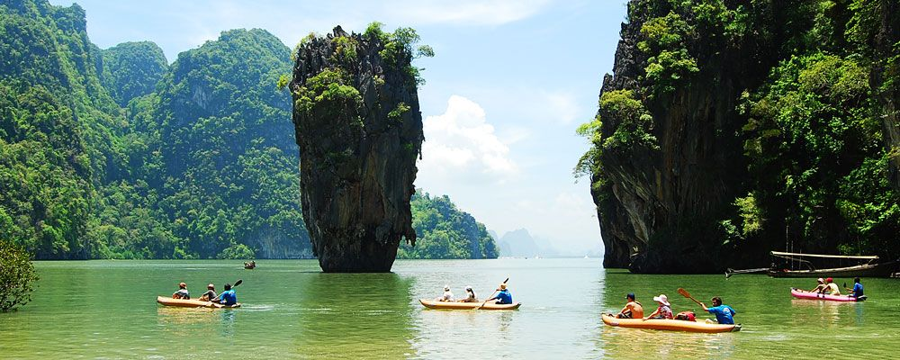 Koh Yao Noi and Koh Yao Yai  Travel  Pinterest  Krabi, Phuket and Canoeing