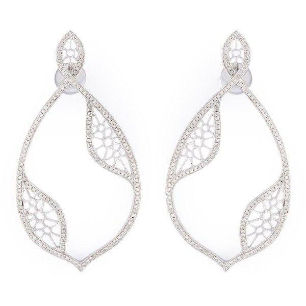 Joëlle Jewellery diamond teardrop earrings - Metallic jrzuiiOE