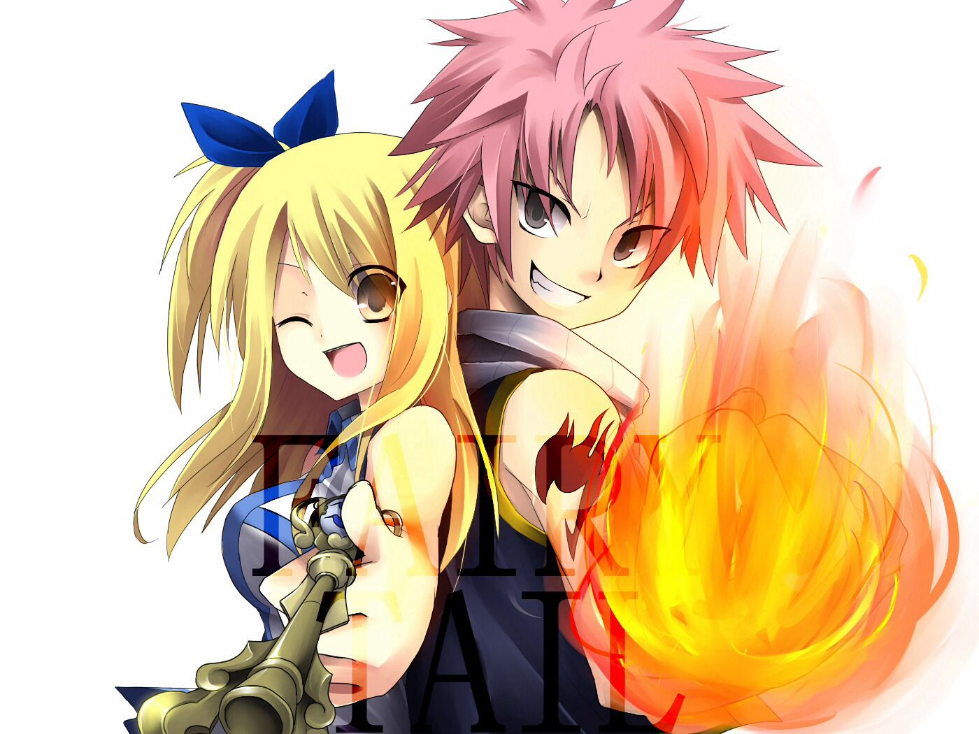 Lucy and Natsu (Fairy Tale) Anime/Chibi Pinterest