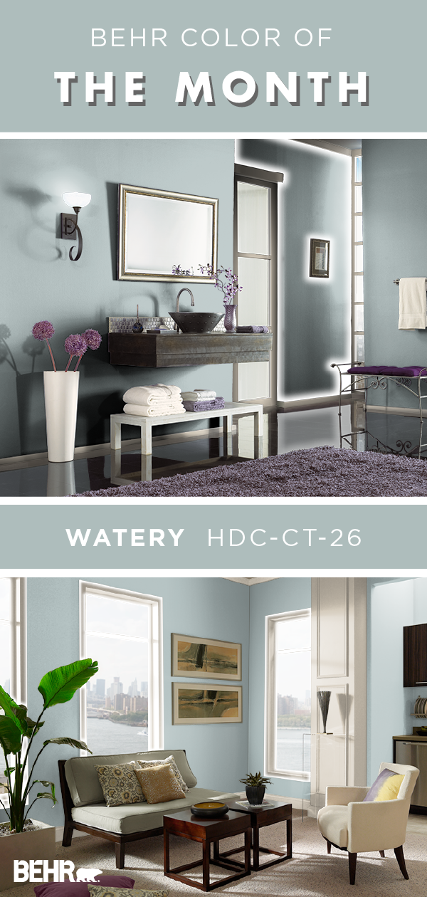 Color of the Month: Watery images