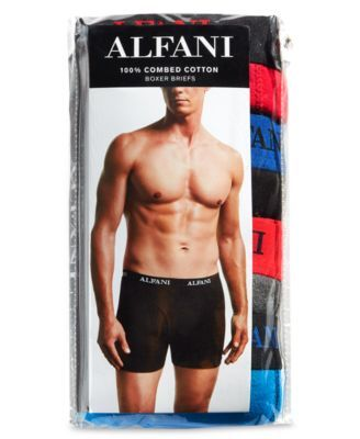 78d65af5cdbc Men's 4 Pack. Cotton Boxer Briefs, Created for Macy's | Products ...