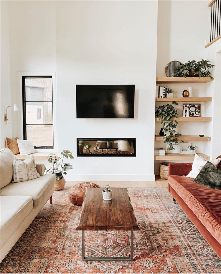 Photo of Fransk Hjemmeinnredning Tenker du på å pusse opp stuen din? Da har du kommet til rett sted! Her samlet 60+ beste design av små stuer og ideer til stuedekorasjoner.