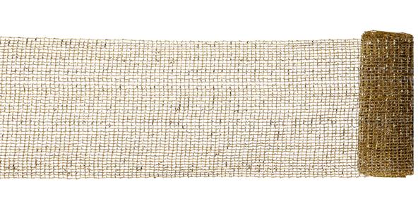 Vickerman  12' X 6'' Gold Mesh Sparkle Ribbon $20.52