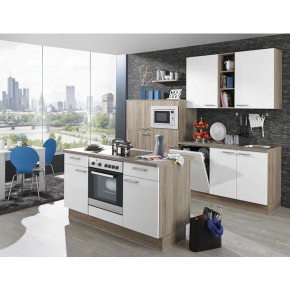 k chenblock mit zentraler insel perfekt ausgestattet f r gemeinsame kochabende k chenbl cke. Black Bedroom Furniture Sets. Home Design Ideas