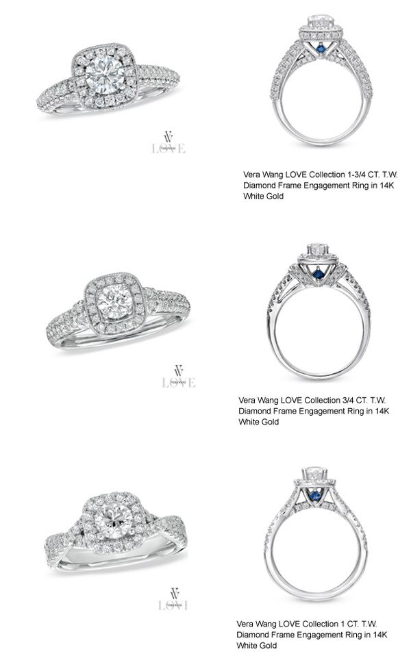 Vera Wang Love Collection Vera Wang Wedding Rings Zales Engagement Rings Vera Wang Zales Engagement Rings