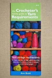 purl soho | products | item | crocheter's handy guide to yarn requirements (interweave press)