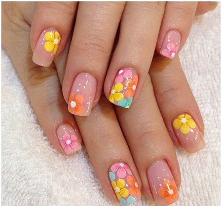 Spring Nail Art Designs Nails Pinterest Spring Nails Style