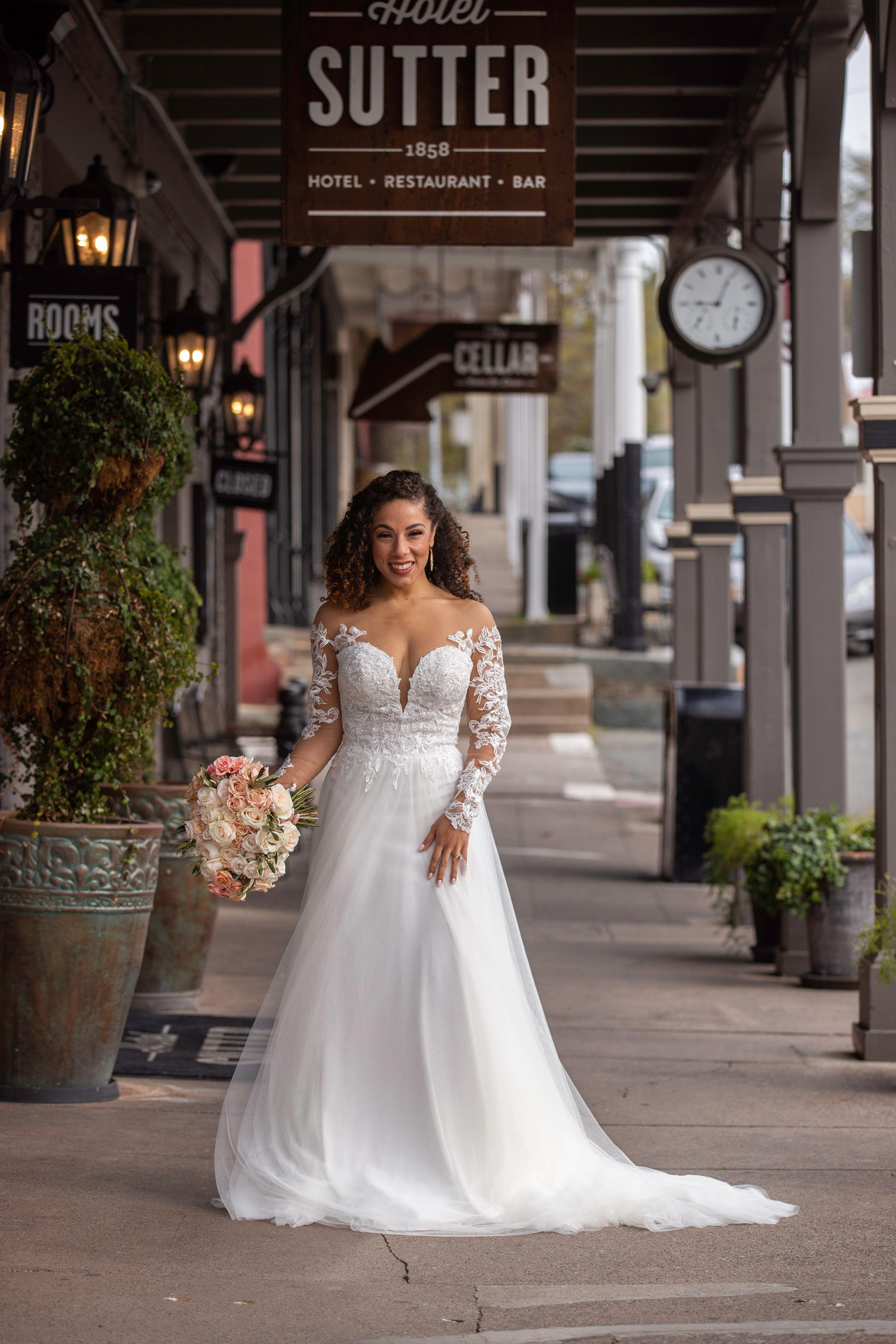 Folsom Bridal Gown / Wedding Dress—De La Rosa's Bridal & Tuxedos ...