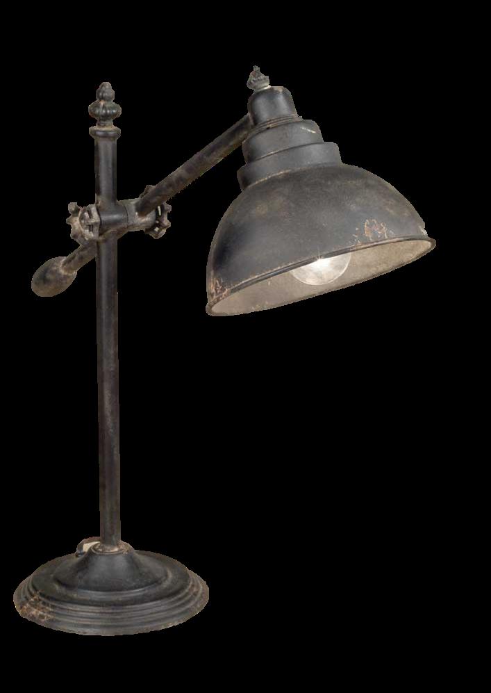Rustic Desk Lamp Desk lamp, Rustic floor lamps, Lamp